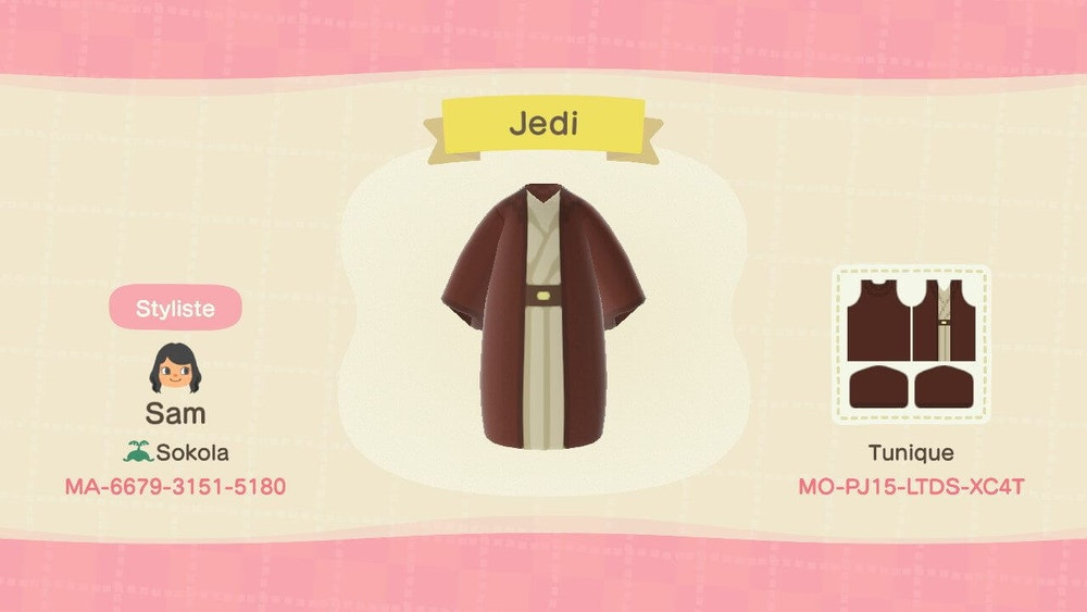 animal crossing new horizons jedi