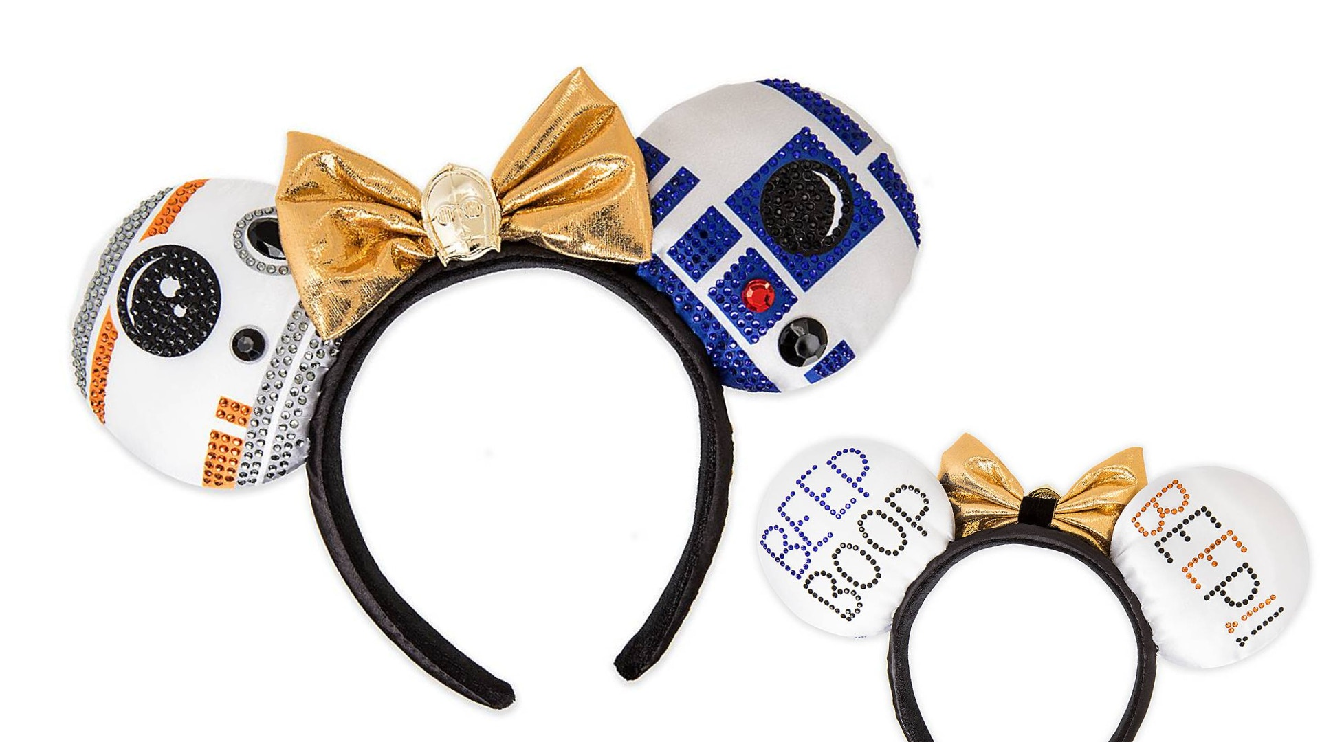 Shop New Limited Release Star Wars Droid Minnie Ear Headband By Her Universe Now Available On Shopdisney Disneyland News Today
