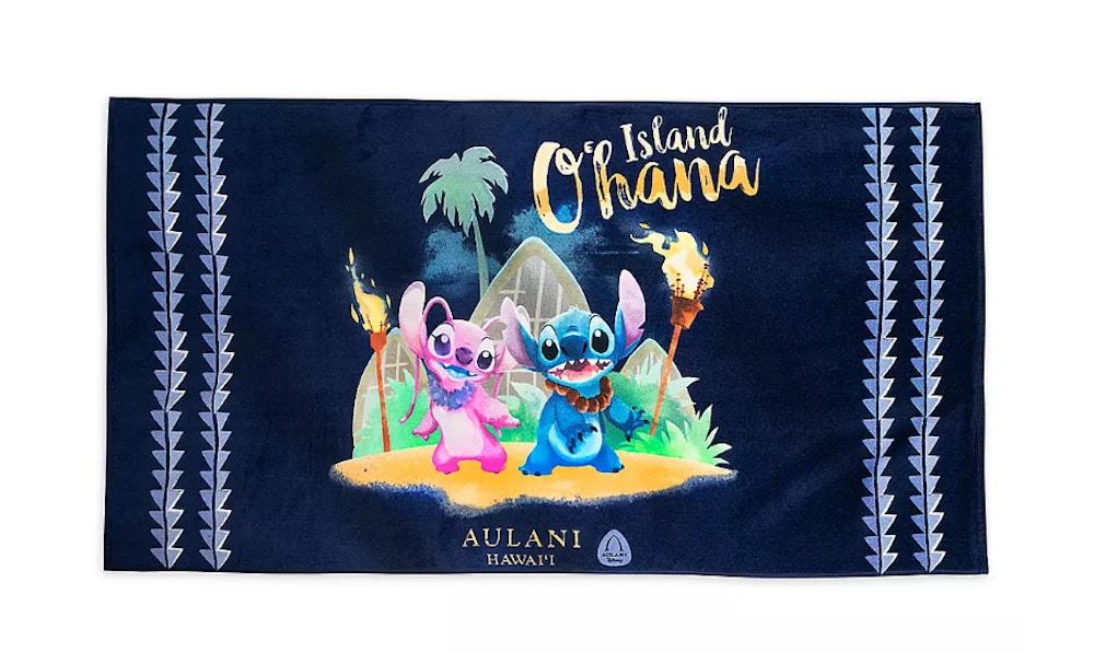 Aulani stitch towel