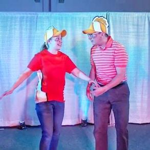 Family Recreates Finding Nemo the Musical