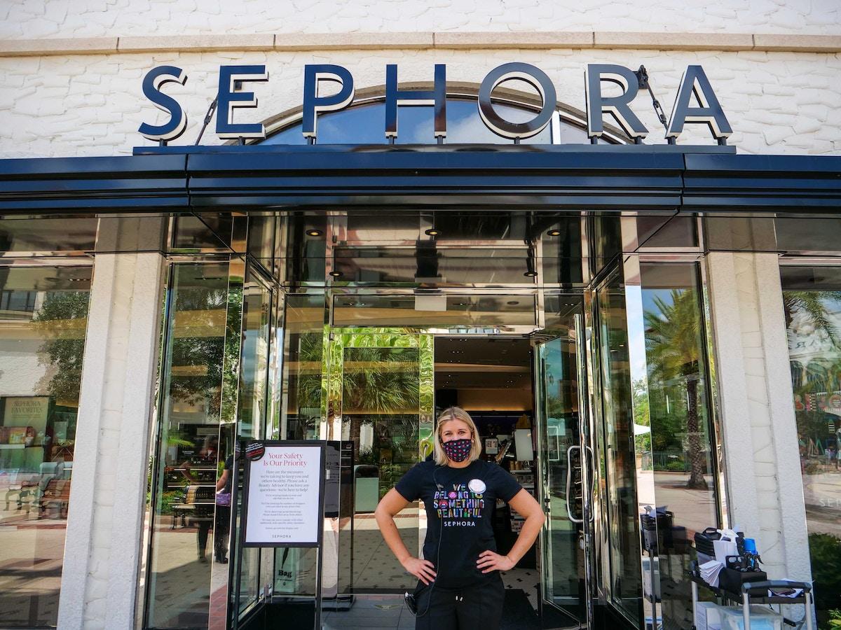 sephora reopening